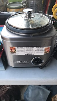 gray Cuisinart steamer rice cooker  Sherwood Park, T8H 0C2