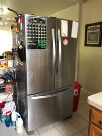 stainless steel french door refrigerator Maple Heights, 44137