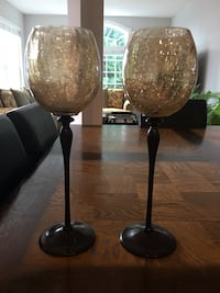 two black-and-brown table lamps Leesburg, 20176