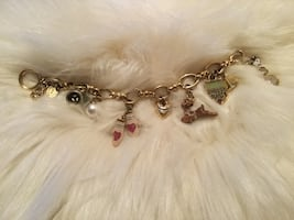 Juicy Couture Winter Limited Edition Charm Bracelet