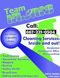 House cleaning Willards