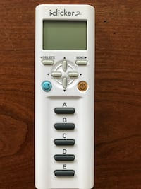 Iclicker 2 Student Remote Excellent Condition Leonardtown, 20650