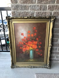 Oil on Canvas Floral Painting Orangeville, L9W