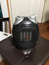 Black and gray heater Mississauga, L5R 2T6
