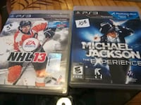 two Sony PS3 game cases Gatineau, J8X