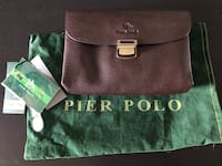 NEW Pier Polo Leather Dark Brown Handbag or Organizer Unisex  Montréal, H8Z 3H8