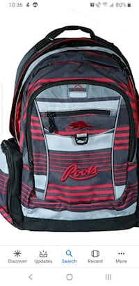 Roots backpack, mint condition  Brampton, L6P