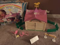 Vintage 80's My Little Pony Show Stable Playset  Ajax, L1T 1V1