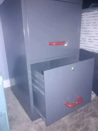 white and black wooden cabinet Virginia Beach, 23453