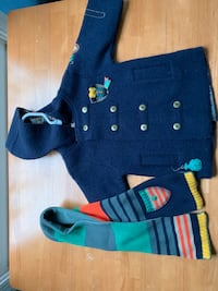 dp au meme French toddler coat with scarf  Gaithersburg, 20878