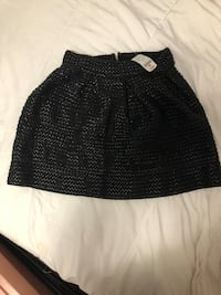 Black skirt faux leather  Toronto, M2J 1J9