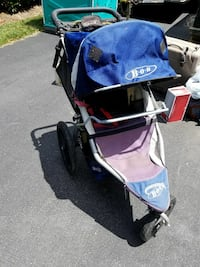 baby's black, blue and purple jogging stroller McLean, 22101