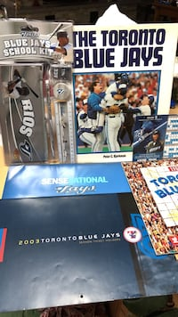Toronto Blue Jays Package. Book, 3 calendars, magnetic schedule, School kit