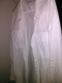 white button-up long-sleeved shirt 1468 mi