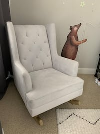 Potterybarn wingback rocking chair Falls Church, 22041