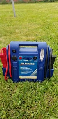 Acdelco 4 in 1 power pack with air compressor booster pack