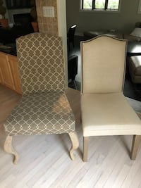 6 dining chairs  Mc Lean, 22102