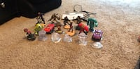 assorted plastic toy collection with box Metairie, 70001