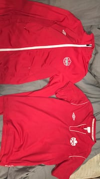 Track suit jacket and signed jersey Pitt Meadows