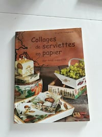 Collages de Serviettes en Papier livre