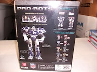 OVER SIZED DALLAS COWBOYS PRO-BOT TRANSFORMER COLLECTIBLE STATESVILLE