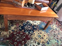 Antique Solid Hardwood Coffee Table