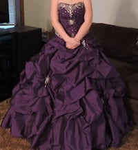 Purple Formal Dress Granger
