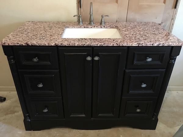St Paul Woodcrafters Valencia 48 In Vanity Cabinet