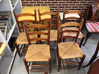 Set of 5 Ladder Back Chairs  Fort Washington, 20744