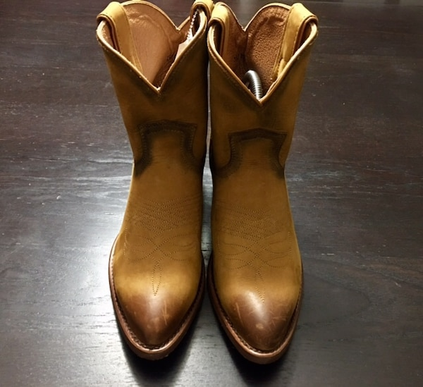 Women's distressed Frye Ankle Boots