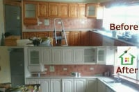Contracting kitchen cabinets restoration Fergus