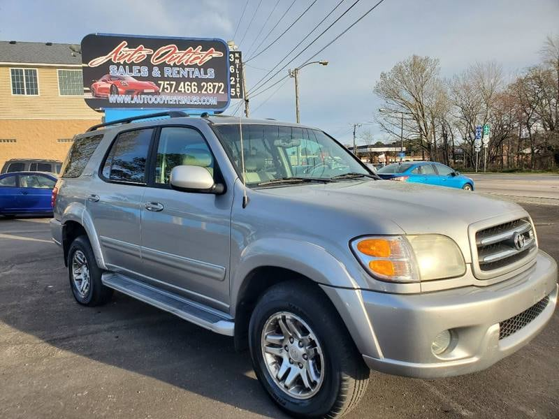 2003 Toyota Sequoia Limited 4WD 4dr SUV 0