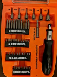 Black and Decker screwdriver kit 406 mi