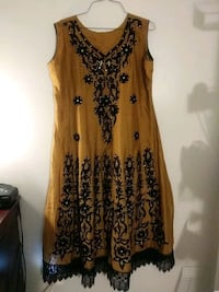 Authentic Indian - yellow summer dress Silver Spring, 20904