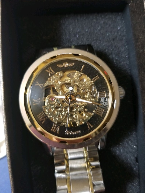 Skeleton watch brand new never worn original $1200 eb1ee8c1-6372-48d3-8712-8cd154e7bef8