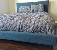 New Blue Modern Queen Bed  Silver Spring, 20910