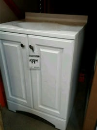 white wooden cabinet with mirror Germantown, 20876
