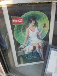 Coca-Cola lithograph photo Toronto, M5R 2E6