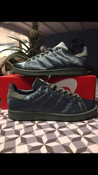 Adidas Stan smith vert militaire t.38/39 Paris, 75019