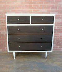 Mid century/Scandinavian dresser,white/jacobean Los Angeles, 90045