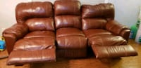 Genuine leather recliner Alexandria