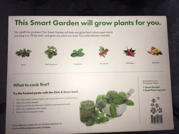 NEW Smart Garden by Click & Grow 90c1f12a-5868-4ec6-8b72-155a4b80fb69