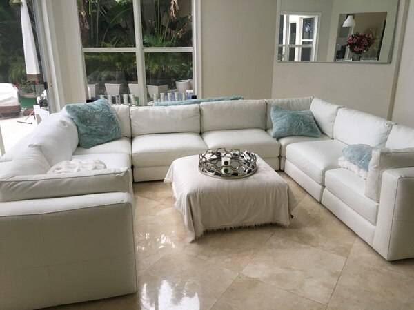 Fine Used Z Gallerie Sectional For Sale In Fort Lauderdale Letgo Ibusinesslaw Wood Chair Design Ideas Ibusinesslaworg