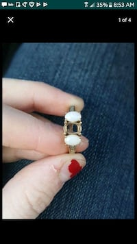 Gold ring w/ Opal and diamond stones  Lynnwood