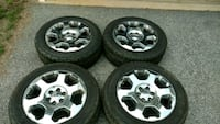275/55R20 Tires and rims Indian Head, 20640