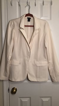 Cream notch lapel suit jacket Sterling, 20165