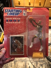 1997 NBA Pacers Reggie Miller Starting Lineup Figure Collectible