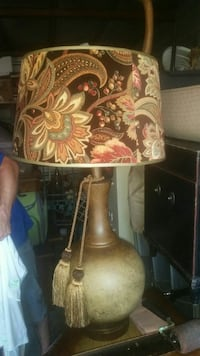 Vintage lamp with felt shade Georgetown, 78628