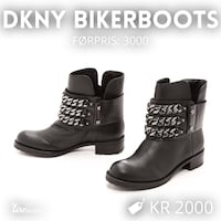DKNY leatherboots!