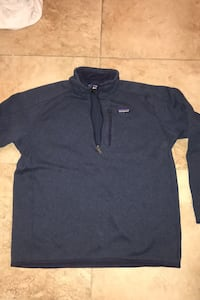 Blue Patagonia Fleece Jacket